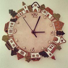#keramika #ceramics #hodiny #home #homemade