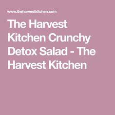The Harvest Kitchen Crunchy Detox Salad - The Harvest Kitchen