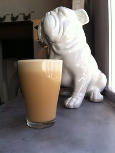 Superb TOM'S FOOD Iced coffee - why not add a bit of homemade butterscotch sauce for that extra indulgence. Recipe protected by Mr bulldog Butterscotch Sauce, Iced Coffee, Glass Of Milk, Homemade, Drinks, Eat, Recipes, Food, Rezepte