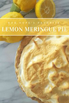 This recipe for Bob Hope's Lemon pie is out of one of my favorite vintage cookbooks, Dinah Shore's Celebrity Cookbook. It's pretty easy to make, and all I really needed was a good mixer to beat the eggs just right. There's not that much baking involved.