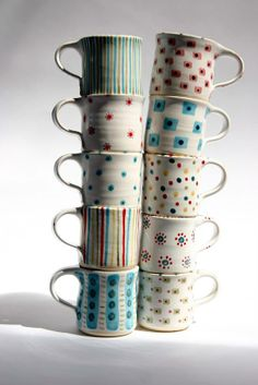 lovely hand made mugs