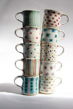 lovely hand made mugs