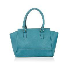 Trapeze Handbag Mid Blue