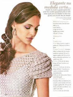 CROCHE COM RECEITAS: vestidos*