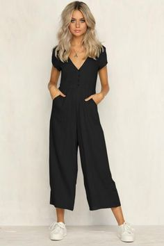 Jumpsuits Cheap Price Gold Hands Full Length Jumpsuits With Bow Striped Playsuits Bodysuits Women Loose Sleeveless Jumpsuit Sale In Many Styles