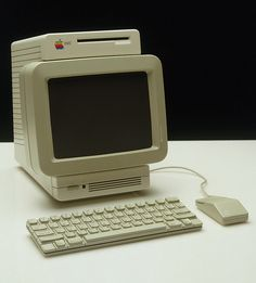 Image result for macintosh computer 1990 oregon trail