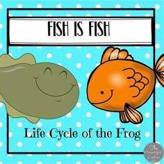 Explore the life cycle of a frog with the story Fish is Fish by Leo Lionni. The book isn't included. Children will: Make Predictions Retell the Story Sequence the Story Construct a Frog Life Cycle Read and Recall Materials include:An EMERGENT READER (11 PAGES with PICTURE SUPPORT and EASY TEXT for emerging readers!) STORY SEQUENCING CARDS-PICTURE CARDS FROM THE STORY AND TEXT CARDS...THESE MATCH THE EMERGENT READER FOR LOTS OF READING PREDICTABILITY AND SUCCESSWhat did the fish IMAGINE? 3…