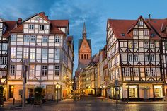 Old town of Hanover, Germany   by Michael Abid