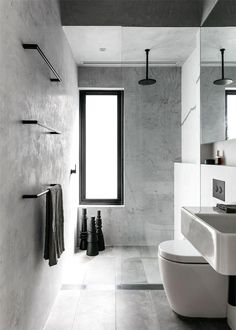 The renovation design of an Australian house - PLANETE DECO has homes world Article Gallery Ideas] Bad Inspiration, Bathroom Inspiration, Interior Design Inspiration, Bathroom Ideas, Design Ideas, Bathroom Bin, Bathroom Faucets, Bathroom Cabinets, Fitness Inspiration