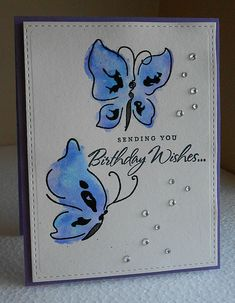 """Painted Butterflies"" Cards - Google Search"