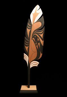 "Eagle Feather - Luke Marston Red Cedar 65""x18""x10"""