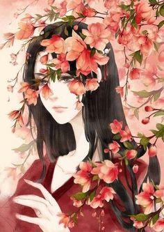 Best fantasy novels to free read on ❤❤❤❤❤❤❤ Chinese Drawings, Art Drawings, Art And Illustration, Anime Art Girl, Manga Art, Anime Girls, Anime Fashion, Beautiful Fantasy Art, Fantasy Kunst