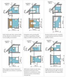Projekty łazienek w zależności od wysokości ścianki kolankowej