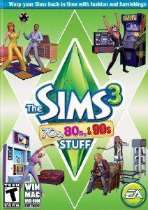 Sims 3  70s 80s 90s Stuff