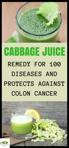 Cabbage Juice – Remedy for 100 Diseases and Protects Against Colon Cancer - Healthy World People
