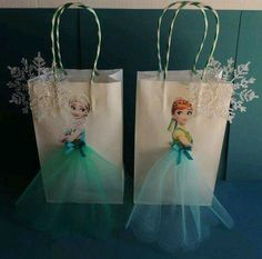 Items similar to 10 Pieces Frozen Fever Elsa Anna Paper Tutu Birthday Favor Goody Gift Bags on EtsyFrozen Elsa Anna Party Favor Bags…these are the BEST Disney Frozen Fun Food Party Ideas! Frozen Elsa Anna Party Favor Bags…these are the BEST Disne Frozen Fever Party, Frozen Birthday Party, Frozen Theme, Birthday Favors, 3rd Birthday Parties, Girl Birthday, Frozen Party Bags, Frozen Gift Ideas, Frozen Favor Bags