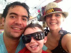 Familia Morales y la krista Chajinized with her panaramahat!