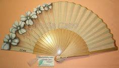 Antique Fans, Vintage Fans, Hand Held Fan, Hand Fans, Painted Fan, Chinese Fans, Old Fan, Hot Flashes, Fabric Dolls