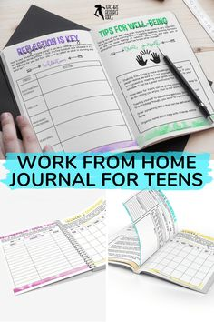 Help your students learn how to study from home with this self lead guide / journal that comes in both printable and digital options for your students. This resource is ready to use. It comes with a 17 page printable journal for them to fill in, and there is a digital version available too for them to type directly into the document, should they prefer. I hope this helps your students as they learn the discipline it takes to study from home! Growth Mindset Display, Life Skills Lessons, Growth Mindset Activities, Academic Goals, Responsive Classroom, Teacher Resources, Teaching Ideas, Mental Health And Wellbeing, School Closures
