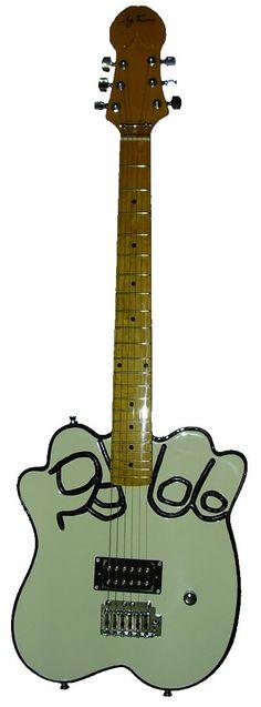 Alex Lora's guitar