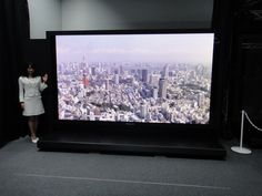 Panasonic 145-inch Super Hi-Vision plasma - Engadget Galleries