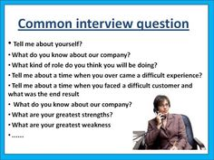 Questions ever asked in interviews-good to show the teens! Common Interview Questions, Done With You, Most Romantic, Job Search, Searching, Thinking Of You, Tools, Activities, Sayings