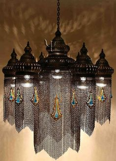 random beauty | ronbeckdesigns: Ottoman Chandelier