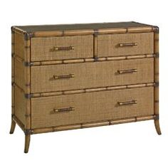 Our Tommy Bahama home collection will bring you the warm feelings of resort living no matter where you're located. Shop our Tommy Bahama indoor furniture now! 4 Drawer Dresser, Dresser With Mirror, Top Drawer, Drawer Fronts, Dressers, Drawer Storage, Bermuda Sands, Rattan Headboard, Dresser
