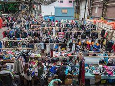 欧州最大フリーマーケット アムステルダムのアイ・ハーレン