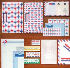 air mail // by present & correct
