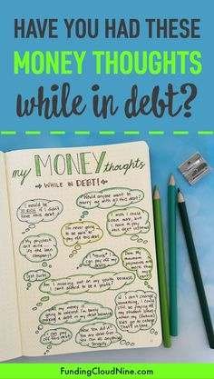 I'm sharing some thoughts on money (both good and bad) that I had when I was paying off debt. Have you had any of the same thoughts?