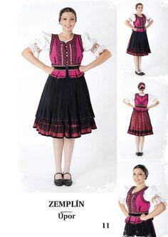 Zemplín, SK Folk Costume, Costumes, European Countries, Czech Republic, Culture, Traditional, Inspiration, Fashion, Pray