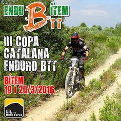 EnduBítem 29 i 20 de març a Bítem 3a copa catalana enduro BTT.  #EnduBitem #EnduBitem2016 #bitem #baixebre #terresdelebre #enduroBTT #btt #ebreactiu