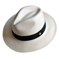 """Panama Straw Hat by Cuyana, which means """"to love"""" in Quechua, the traditional language of the Andean tribes."""