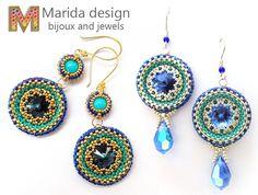 """Maiolica"" earrings"