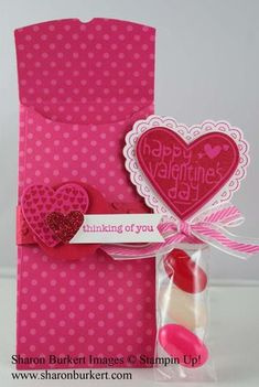 Stampin Up!    Valentine Treat Bundle and the Petite Pocket