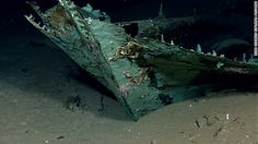 Images of a shipwreck found in the Gulf of Mexico showed that its wooden construction has been destroyed by underwater organisms, but copper sheeting that protected the ship's hull also helped it retain its shape.  By CNN Wire Staff, Thu May 17, 2012