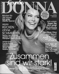 Ingrid Seynhaeve -- Freundin magazine