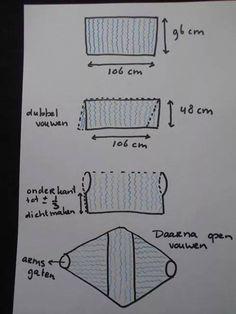 Voorbeeld tekening shrug haken