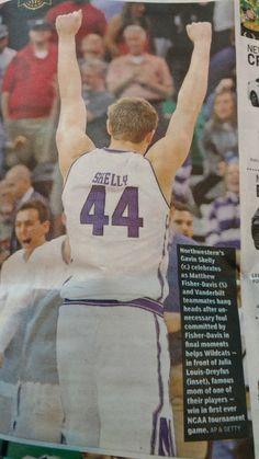 Gavin Skelly Northwestern Basketball 78abc7de94382