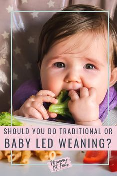 Everything that you need to know to get started with baby led weaning. Plus, how baby led weaning differs from traditional weaning.