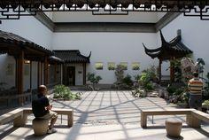 大都會博物館的中國庭園