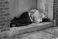"""Salvation Army placed home address signs in public places used as """"beds"""" by the homeless - like..."""