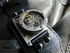 The I-RON no.017. Custom Watch by GRIOTH