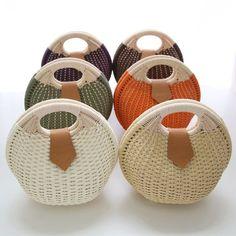 The Interwoven exhibition at Habitat's Platform Gallery on Box Creative, Hemp Yarn, Paper Weaving, Basket Bag, Summer Bags, Handmade Bags, Basket Weaving, Straw Bag, Purses And Bags