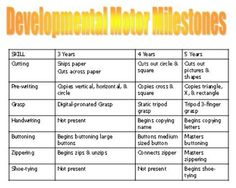 1000 images about peds development on pinterest child for Stages of motor development