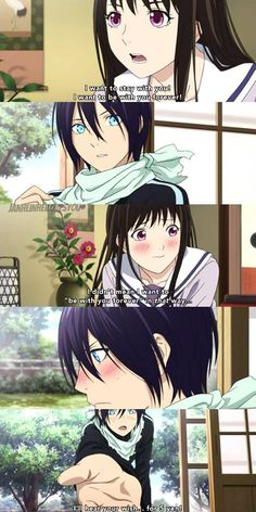 -- You mean it in that way, Hiyori. Admit it cx <<< Anyone else tho think Yato is so dorky for saying that 😂 Moe Manga, Moe Anime, Anime Manga, Anime Art, Yato And Hiyori, Noragami Anime, Manhwa, Yatori, Anime Rules