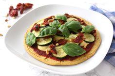 Pizza vegan glutenfrei Pizzaboden Cashewkäse
