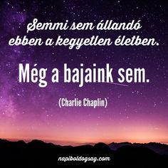 Charlie Chaplin idézet