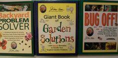 Jerry Baker 3 Book Lot Bug Off Giant Garden Solutions Backyard Problem Solver +